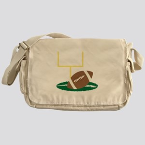 Football Goal Messenger Bag