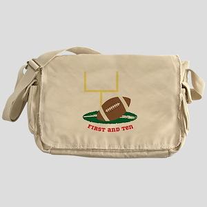 First And Ten Messenger Bag