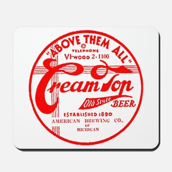 Cream Top Beer-1936 Mousepad