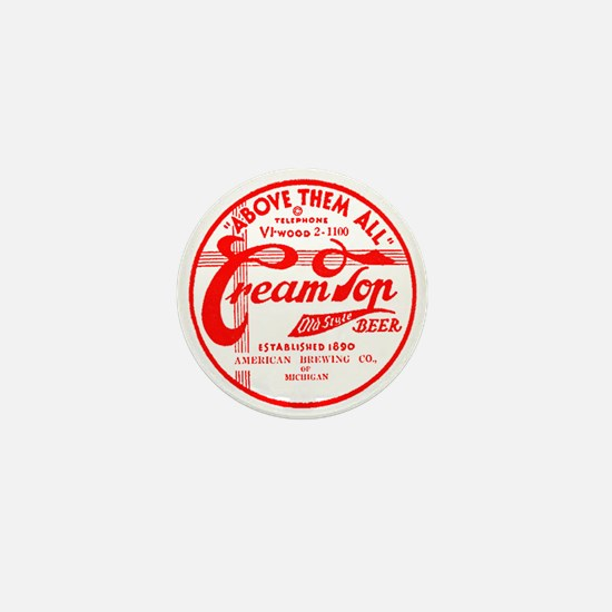 Cream Top Beer-1936 Mini Button