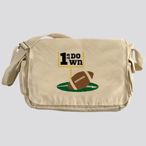 1st Down Messenger Bag