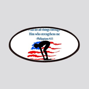 CHRISTIAN SWIMMER Patches