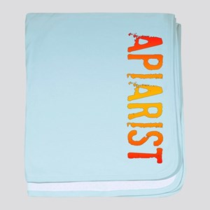 stamp-apiarist baby blanket
