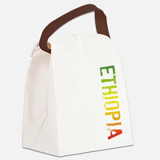 Ethiopia Canvas Lunch Bag