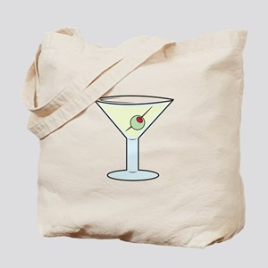 Martini Tote Bag