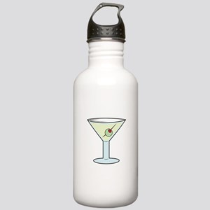 Martini Water Bottle