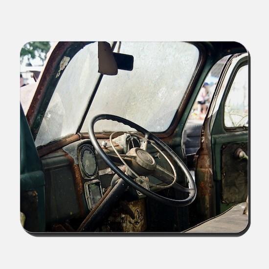 Steering Wheel Mousepad