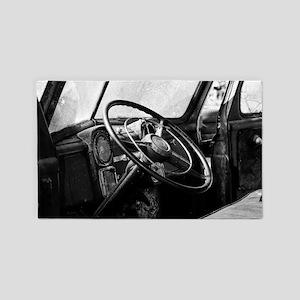 Steering Wheel 3'x5' Area Rug