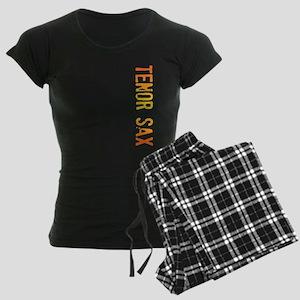 stamp-tenorsaxB Women's Dark Pajamas