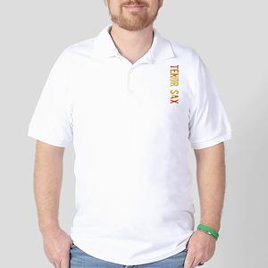 stamp-tenorsaxB Golf Shirt