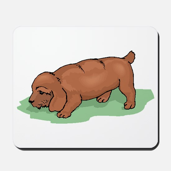 Field Spaniel Puppy Mousepad