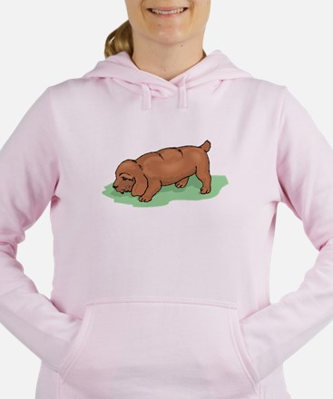 Field Spaniel Puppy Women's Hooded Sweatshirt