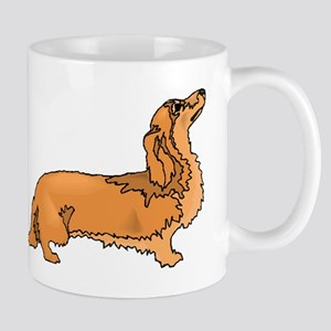 Longhaired Dachshund Mugs