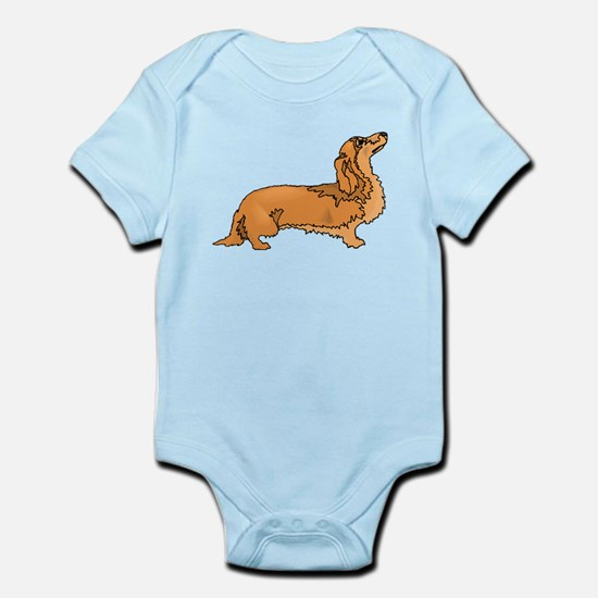 Longhaired Dachshund Body Suit