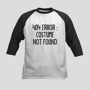 404 Error : Costume Not Found Baseball Jersey