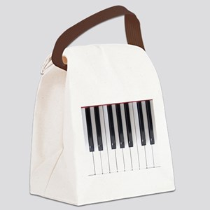 Keyboard 7 Canvas Lunch Bag