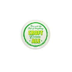 Croft Cream Ale-1947 Mini Button (10 pack)