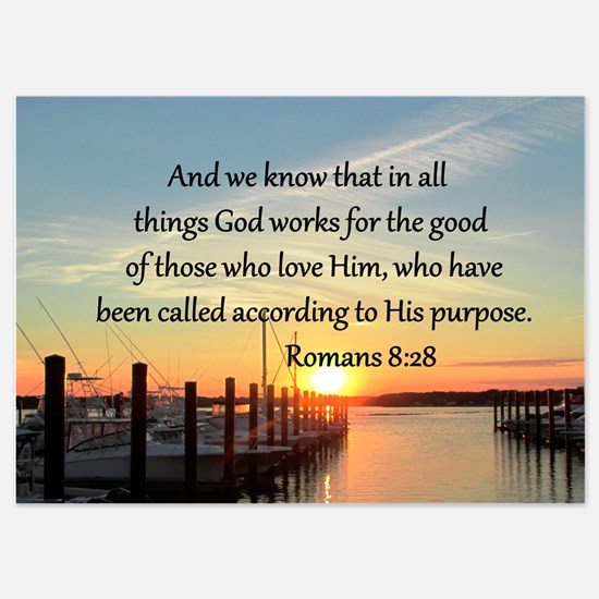 ROMANS 8:28 Invitations