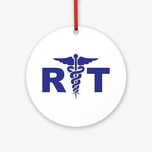 Respiratory Therapy Round Ornament