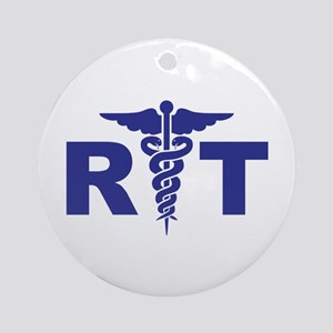 Respiratory Therapy Round Ornament