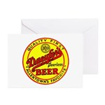 Daeufer's Beer-1941 Greeting Cards (Pk of 10)