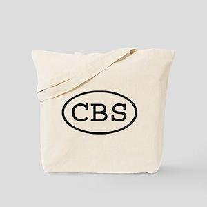 CBS Oval Tote Bag