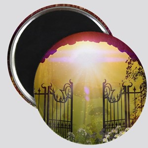 The gate to the land of dreams Magnets