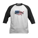 Vintage America Kids Baseball Jersey