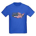 Vintage America Kids Dark T-Shirt