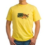 Vintage America Yellow T-Shirt