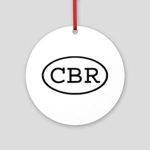 CBR Oval Ornament (Round)