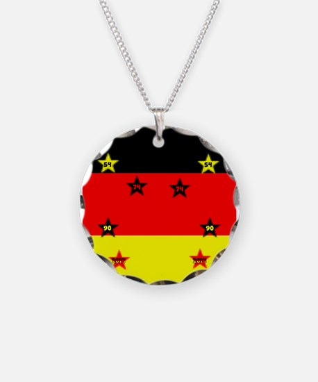 Germany four Stars Necklace
