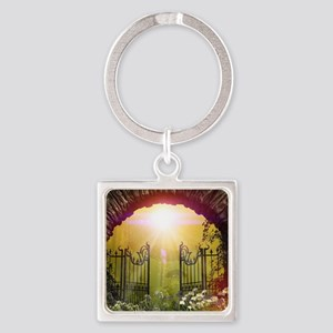 The gate to the land of dreams Keychains
