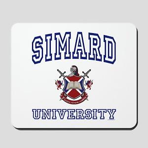 SIMARD University Mousepad