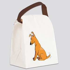 Miniature Pinscher Canvas Lunch Bag