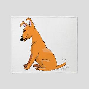 Miniature Pinscher Throw Blanket
