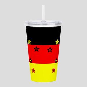 Germany four Stars Acrylic Double-wall Tumbler