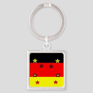 Germany four Stars Keychains