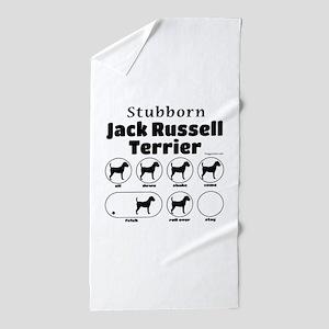 Stubborn JRT v2 Beach Towel