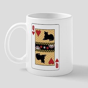 Queen Burmese Mug
