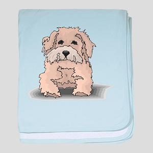Glen of Imaal Terrier Puppy baby blanket