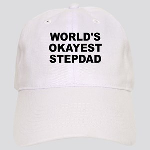 World's Okayest Stepdad Cap