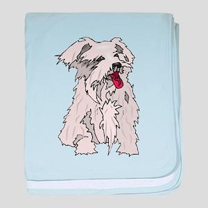 Glen of Imaal Terrier baby blanket