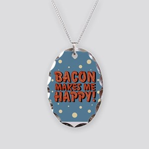 bacon-makes-me-happy_b Necklace