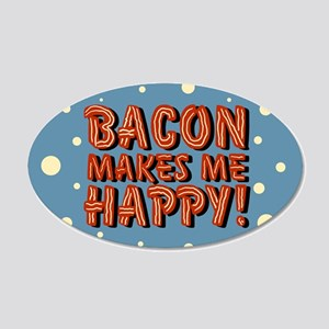 bacon-makes-me-happy_b Wall Decal
