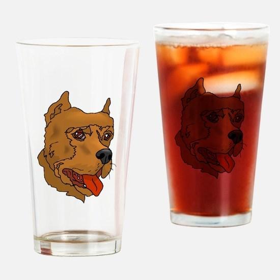Perro de Presa Canario Drinking Glass