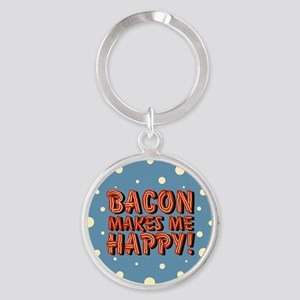 bacon-makes-me-happy_b Keychains