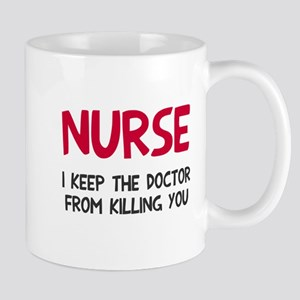 Nurse keep doctor Mug