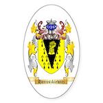 Hanuszkiewicz Sticker (Oval)