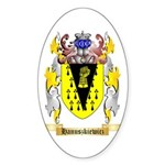 Hanuszkiewicz Sticker (Oval 10 pk)
